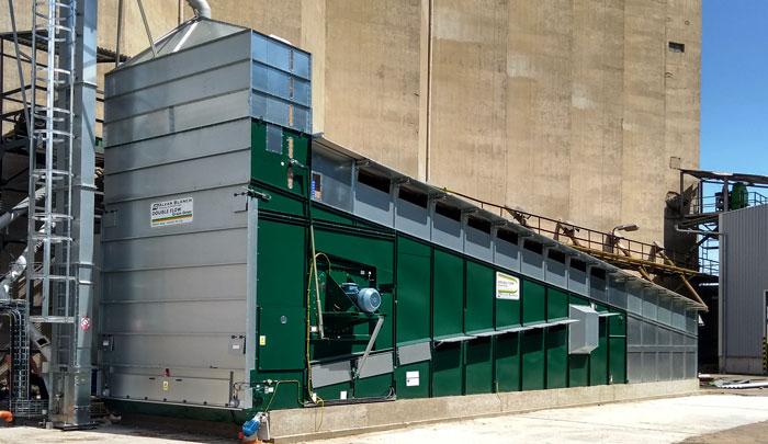 Grain Dryer - Alvan Blanch Continuous Double Flow Grain Drying System