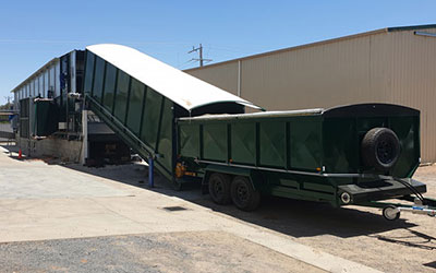 Barley Grass Dryer – NSW, Australia