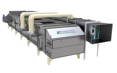 Moving Bed Conveyor Dryer