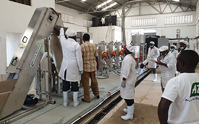 Alvan Blanch Mango Processing System Recovers Dormant Factory in Kenya