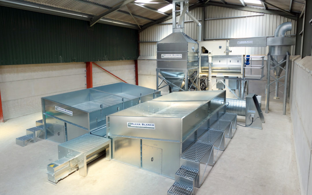 Grain Drying and Cleaning System – GAC – Nigeria