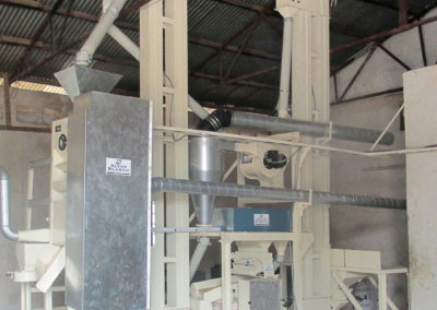 Rice Mill with Cleaning & Destoning – Sierra Leone