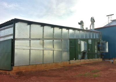 Maize Drying and Cleaning System – Masindi – Uganda