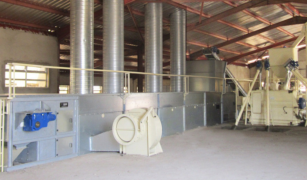 Feed Mill With Steam Extrusion – For Fish Feed – Nigeria