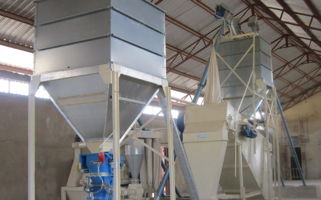 Feedmill With Automated Ration Systems – Zaria – Nigeria