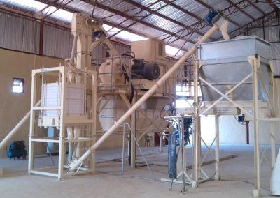 Maize and Cassava Flour Milling System -Benue State – Nigeria