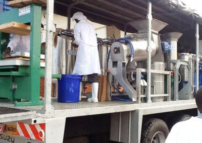 Mobile Fruit Juice Processing System – Kampala – Uganda