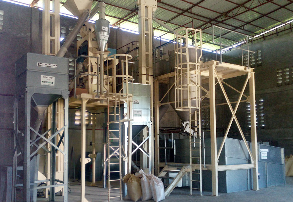 Alvan Blanch Rice Parboiling and Milling - Haiti