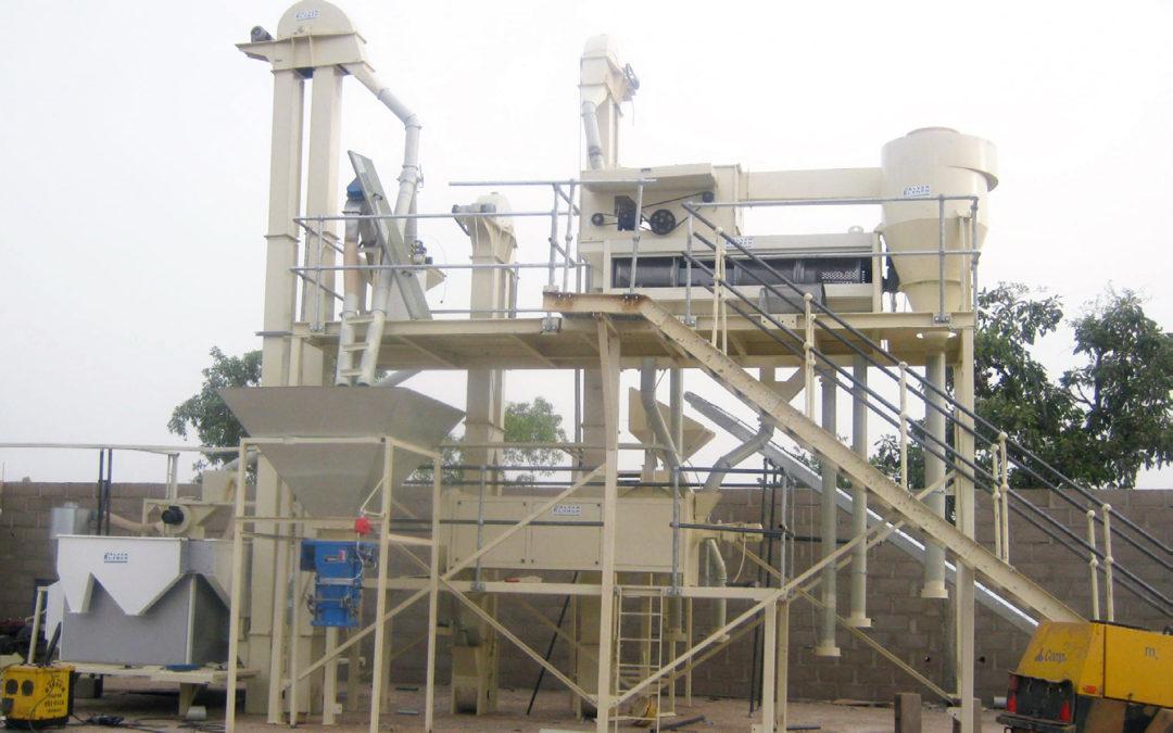 Seed cleaning plant – Adamawa State – Nigeria