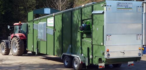 Mobile Grain Dryer - Alvan Blanch