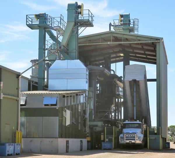 Alvan Blanch Double Flow Nut Dryer Australia