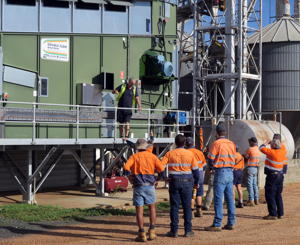 Alvan Blanch Sales Manager Update training for Grain Corp QLD