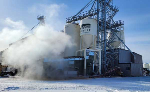 Alvan Blanch Seed Dryer Canada